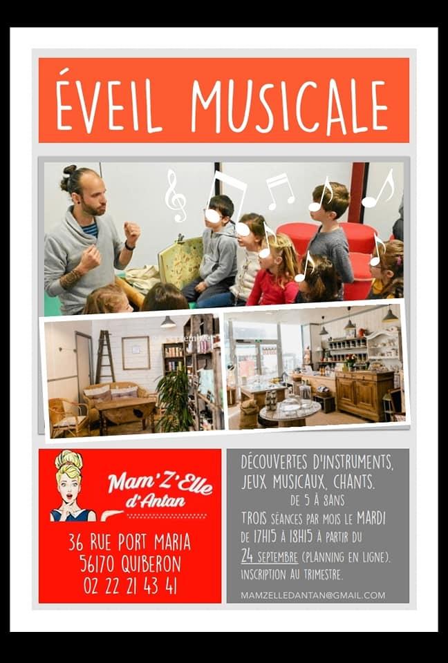 atelier quiberon, eveil musical, epicerie fine